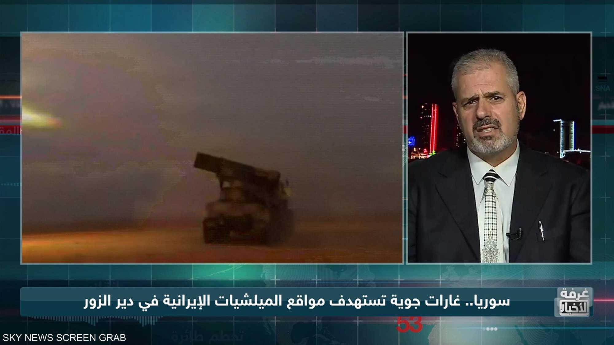 معارك الشرق السوري.. الميليشيات في مرمى الغارات