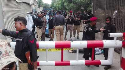 6 قتلى في هجوم على بورصة كراتشي