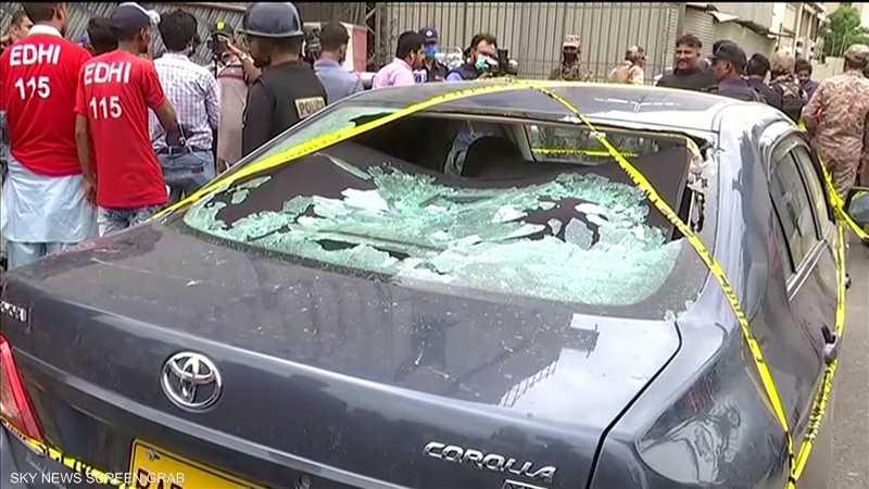 قتلى في هجوم شنه مسلحون على بورصة كراتشي