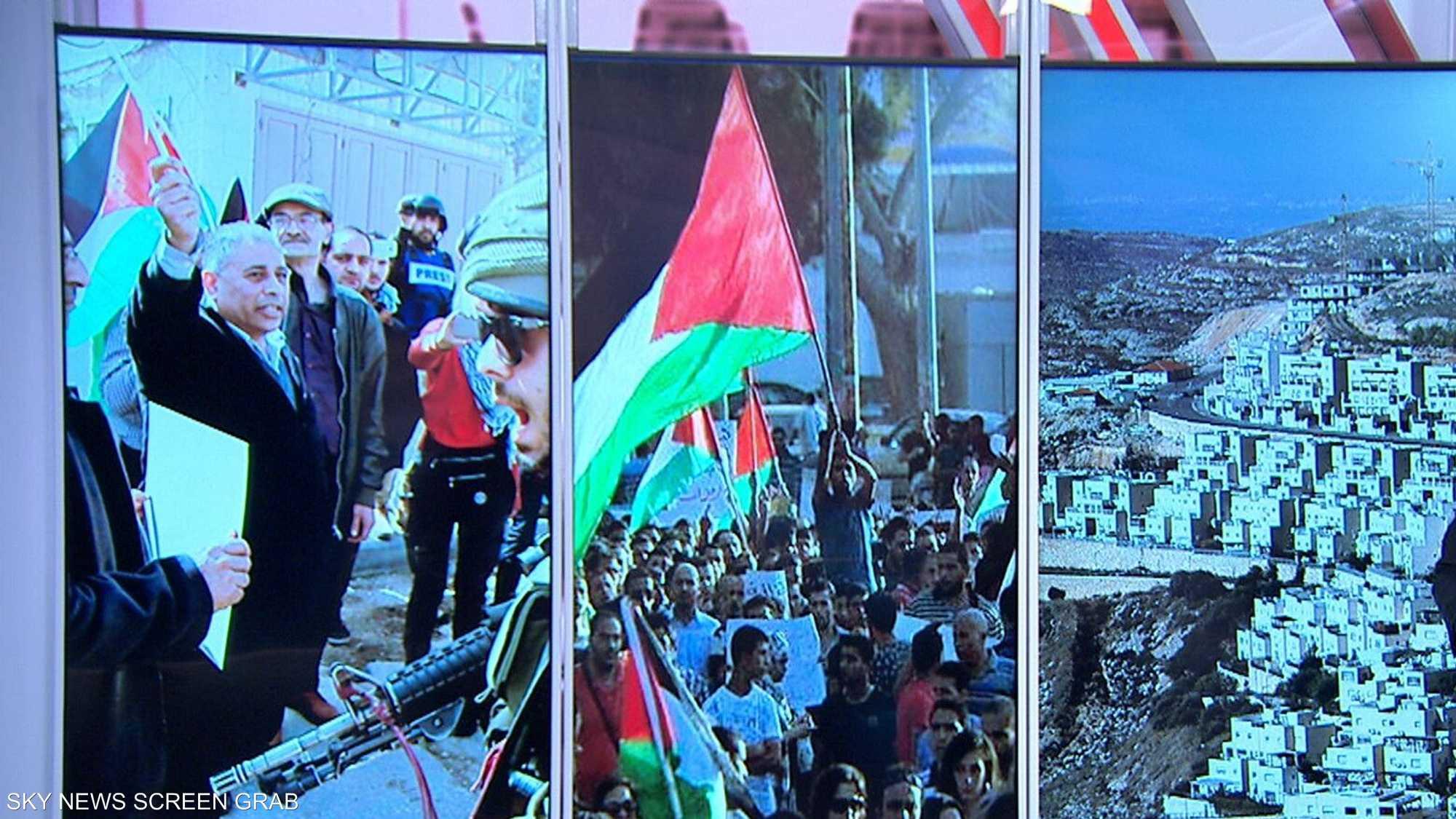 الحكومة الإسرائيلية تنناقش غدا خطط ضم أراض في الضفة