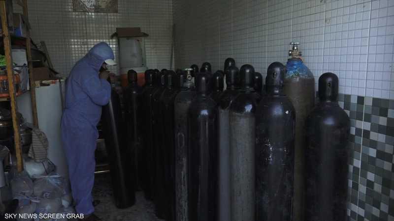مبادرة عراقية لتوزيع أسطوانات أوكسجين على المصابين بكورونا