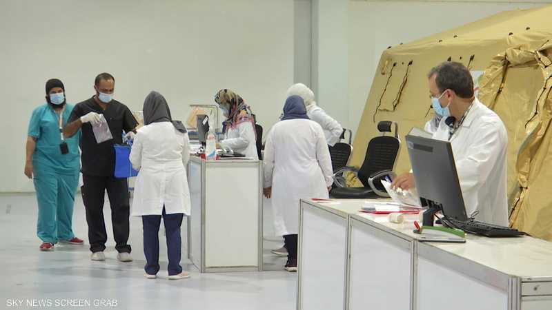 المستشفى الميداني في جدة يواصل استقبال المصابين بالفيروس