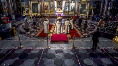"""روسيا.. الكنيسة تعاقب راهبا """"أنكر وجود كورونا"""""""