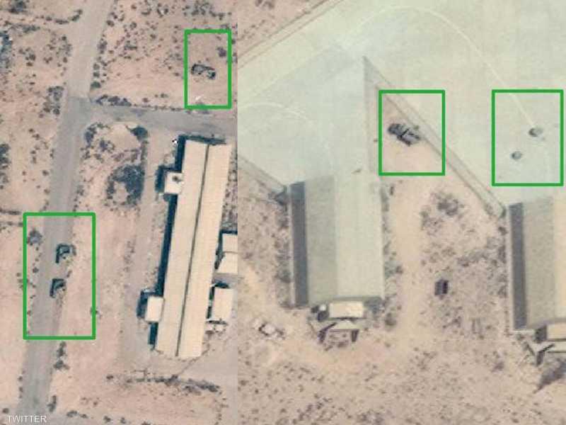 الجيش الوطني الليبي يقصف قاعدة الوطية