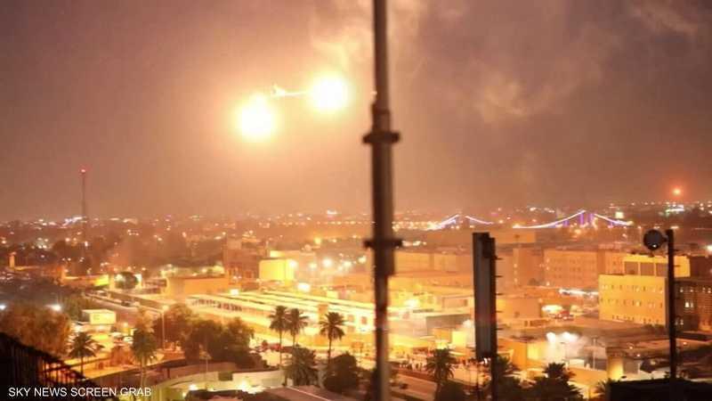 العراق.. السفارة الأميركية تتصدى لهجوم صاروخي