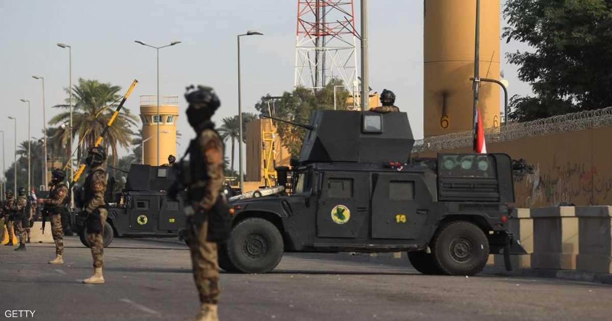 العراق.. صاروخ  مجهول  يستهدف المنطقة الخضراء   أخبار سكاي نيوز عربية