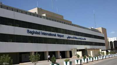 سقوط صاروخ على مطار بغداد.. ولا خسائر بشرية