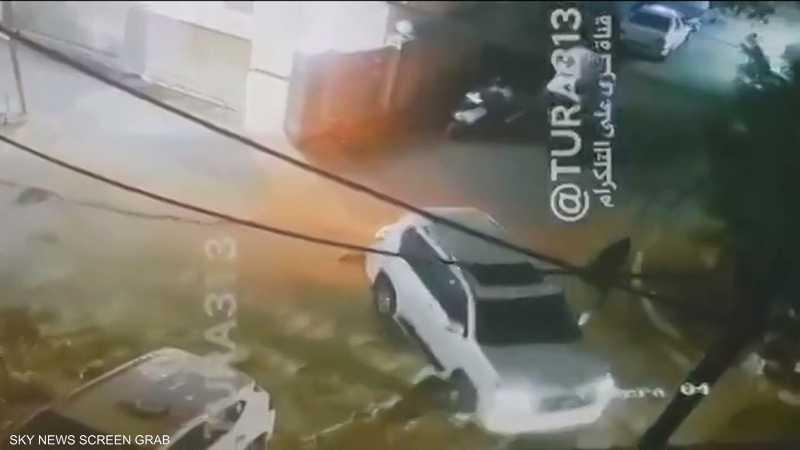 لحظة اغتيال الهاشمي في بغداد