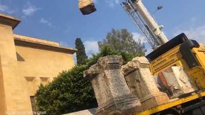 """وزارة الثقافة اللبنانية توضح حقيقة """"فيديو نقل الآثار"""""""