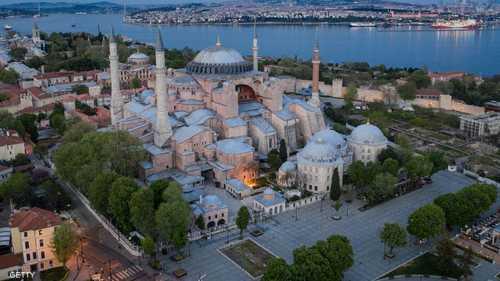 كانت آيا صوفيا كاتدرائية للمسيحيين الأرثوذوكس طوال 900 عام