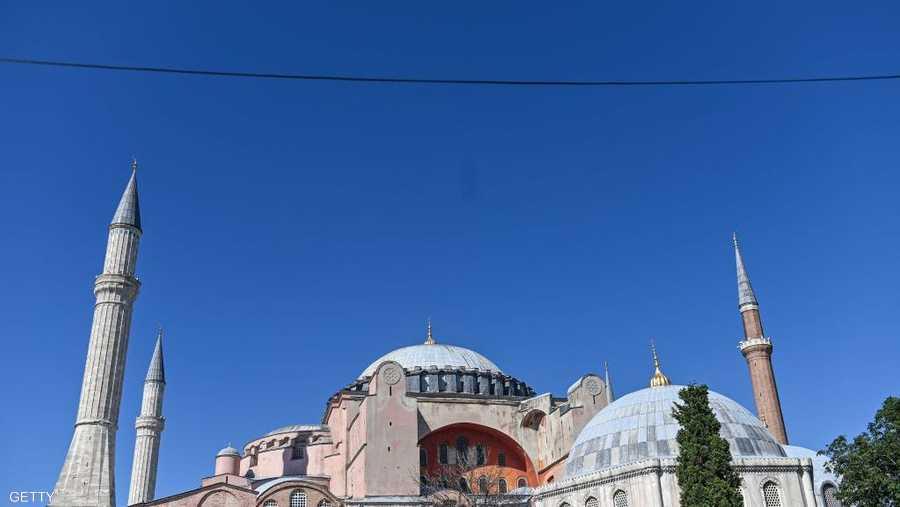 المحكمة الإدارية العليا التركية قررت إلغاء قرار سنة 1934 القاضي بتحويل آيا صوفيا إلى متحف.