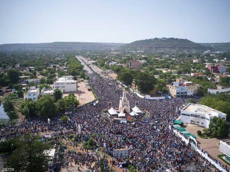 مظاهرة سابقة في العاصمة المالية باماكو