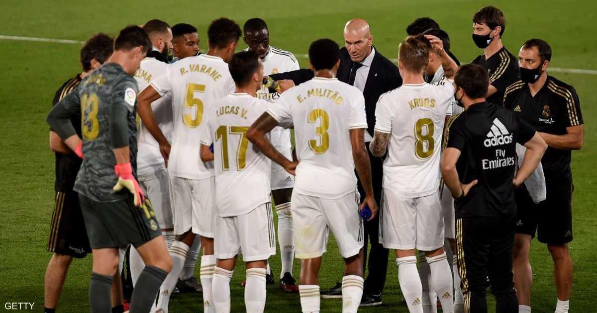 قطار ريال مدريد لا يتوقف.. فوز جديد يقربه من اللقب
