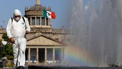 """كورونا.. المكسيك تقتحم """"المربع الكريه"""""""