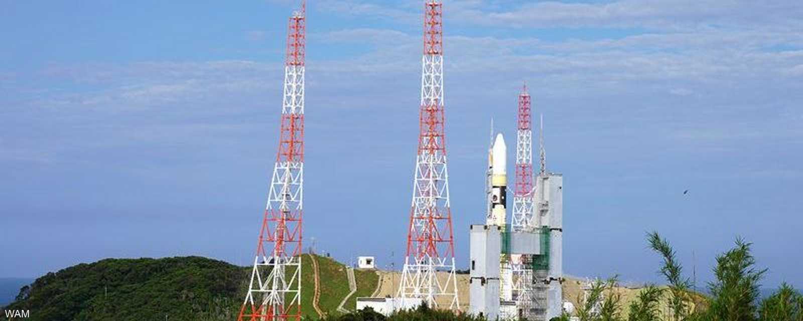 أقلع الصاروخ من منصة ميتسوبيشي للصناعات الثقيلة