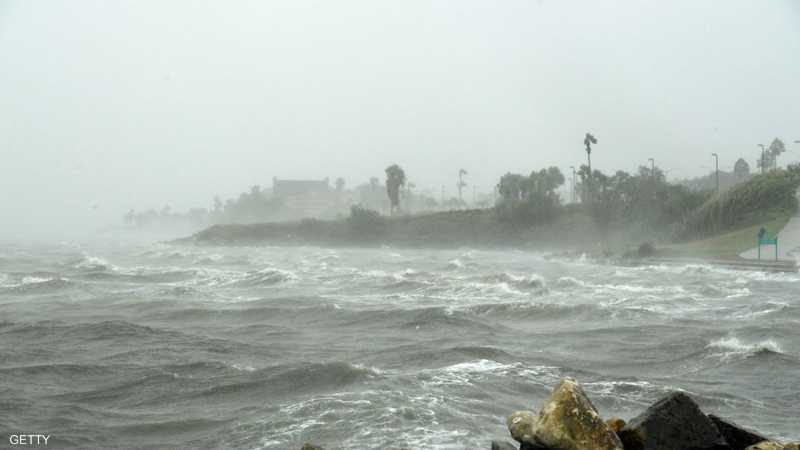 """إعصار """"هانا"""" يضرب تكساس   أخبار سكاي نيوز عربية"""
