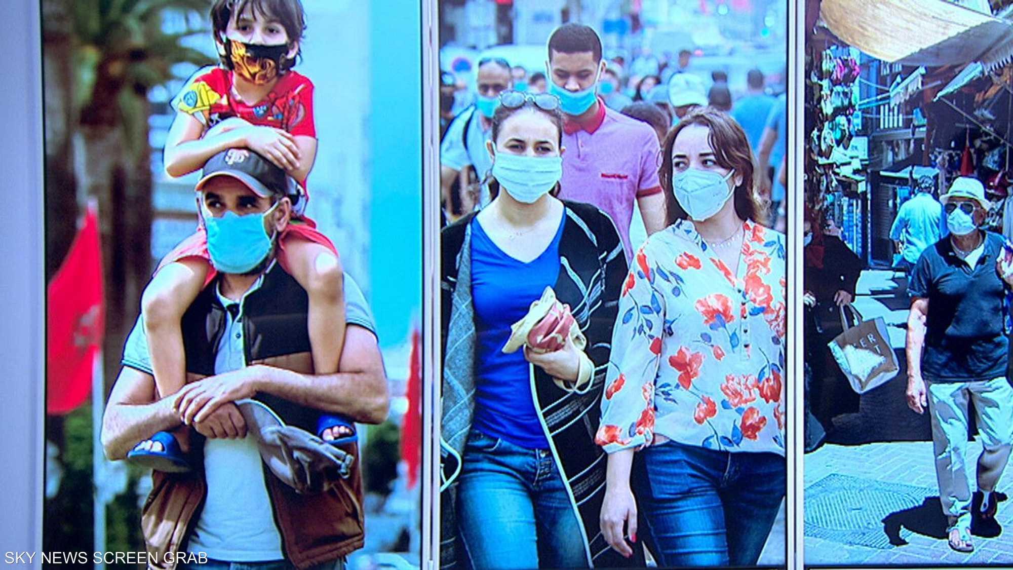 السلطات المغربية تفرض وضع الكمامة