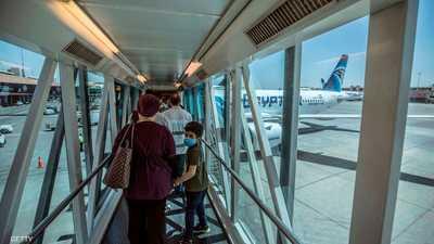 ارتفاع معدلات الحركة الوافدة والمغادرة في مطار القاهرة