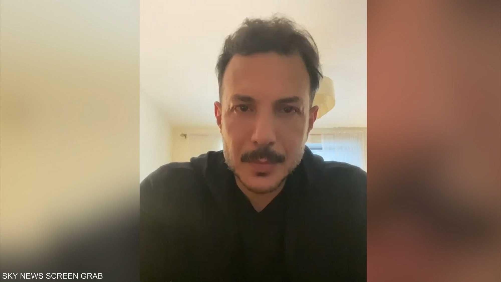 باسل خياط يبكي والده