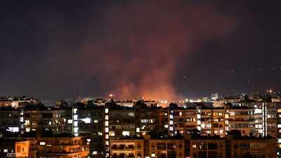 """الغارات الإسرائيلية والتصدي السوري.. ليلة """"البيان النادر"""""""