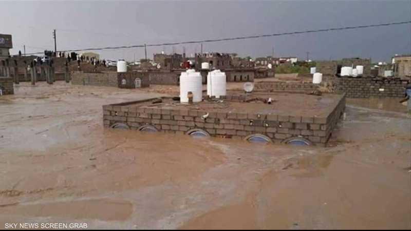 17 قتيلا جراء السيول في محافظة مأرب