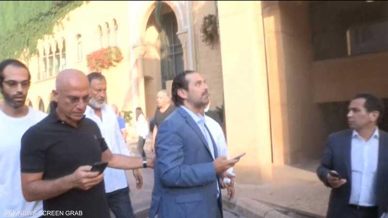 """بعد انفجار بيروت.. أضرار في """"بيت الوسط"""" والحريري بخير"""