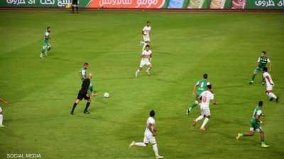 المباراة انتهت بفوز الزمالك 1-0 على المصري