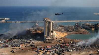 """انفجار بيروت.. تطورات الكارثة """"لحظة بلحظة"""""""