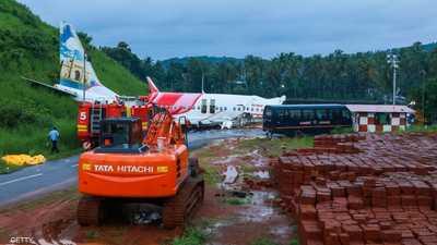 ارتفاع حصيلة ضحايا طائرة الركاب الهندية المنكوبة