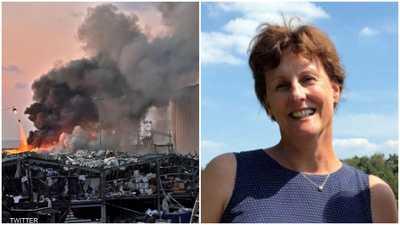 وفاة زوجة سفير هولندا متأثرة بإصابتها في انفجار بيروت