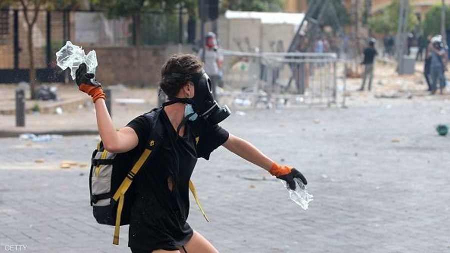 التظاهرات خرجت عن الإطار السلمي من قبل المحتجين
