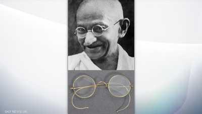 """نظارة غاندي """"في أغرب مكان"""".. والمُرسل تفاجأ بسعرها"""