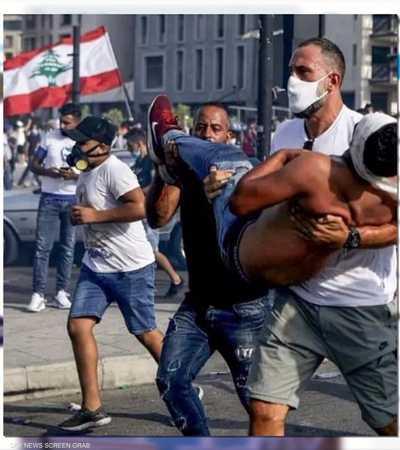 فادي الخطيب من كرة السلة إلى إنقاذ المتظاهرين في بيروت