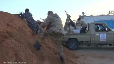الجيش الليبي يرصد نقل تركيا مرتزقة أفارقة إلى مصراتة