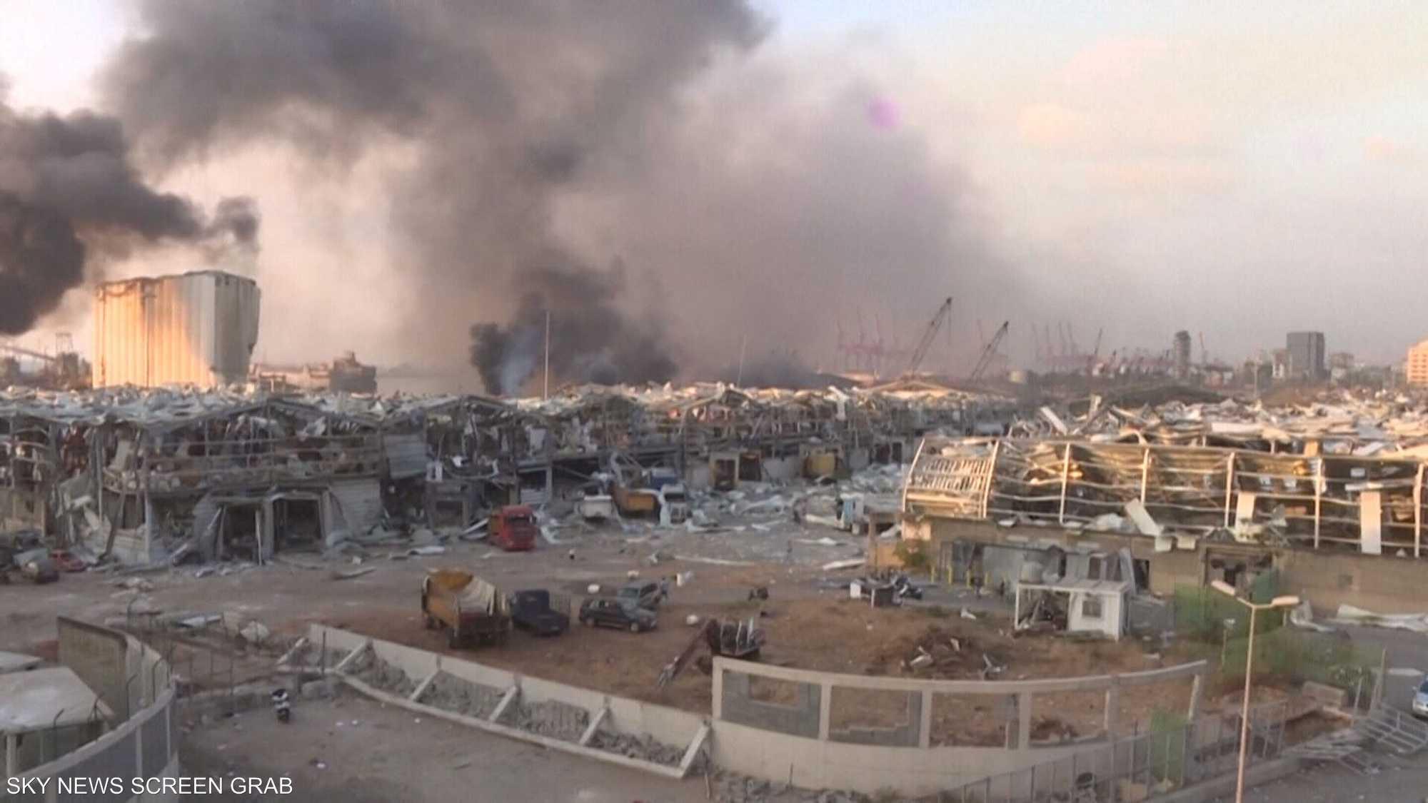 انفجار مرفأ بيروت يعيد فتح ملفات بيئية