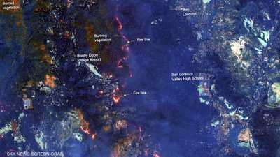 كاليفورنيا.. عشرات الآلاف يهجرون منازلهم هربا من الحرائق