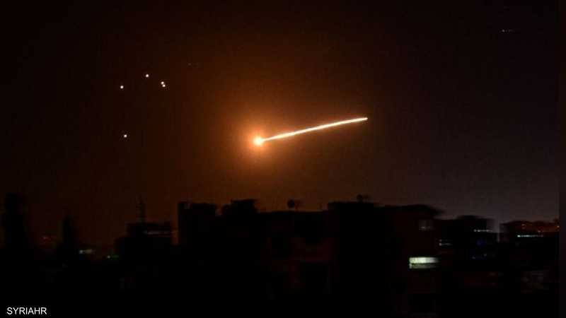 القصف الإسرائيلي استهدف عدة مناطق قرب دمشق