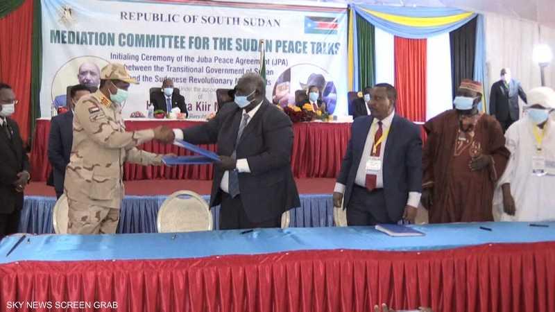 اتفاق سلام برعاية إماراتية بجوبا بين فرقاء السودان