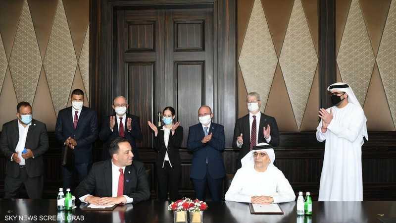 الإمارات وإسرائيل توقعان اتفاقية للتعاون المصرفي والمالي
