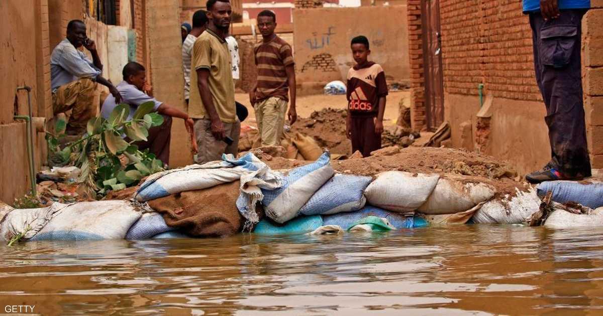 ارتفاع حصيلة ضحايا فيضانات السودان.. وأوضاع صحية متردية