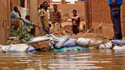 فيضانات السودان.. خسائر هائلة