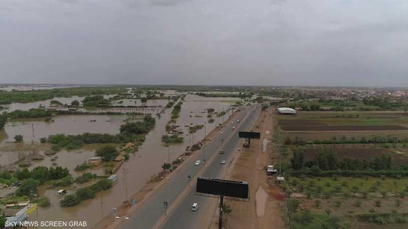 السودان.. تكثيف جهود الإغاثة لمساعدة متضرري الفيضانات