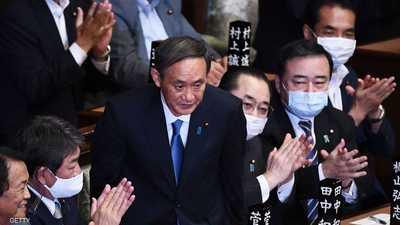 البرلمان الياباني ينتخب يوشيهيدي سوغا رئيسا للوزراء