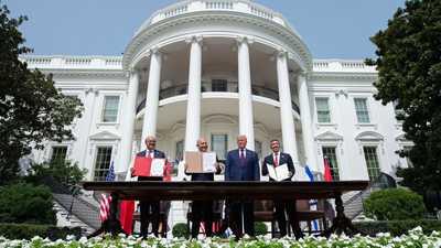 مسؤول أميركي: متفائلون بما ستحققه معاهدة السلام في المنطقة