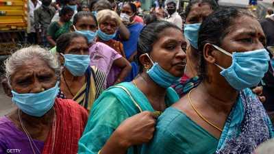 كورونا في الهند.. أكثر من 96 ألف إصابة جديدة