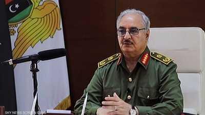 """حفتر يعلن إعادة فتح المنشآت النفطية الليبية بـ""""شروط"""""""