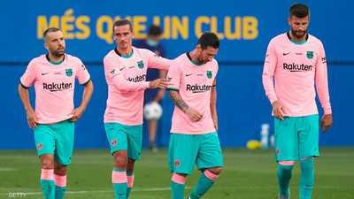"""جدول مباريات """"مرعب"""" لبرشلونة يهدد بتعميق الجراح"""