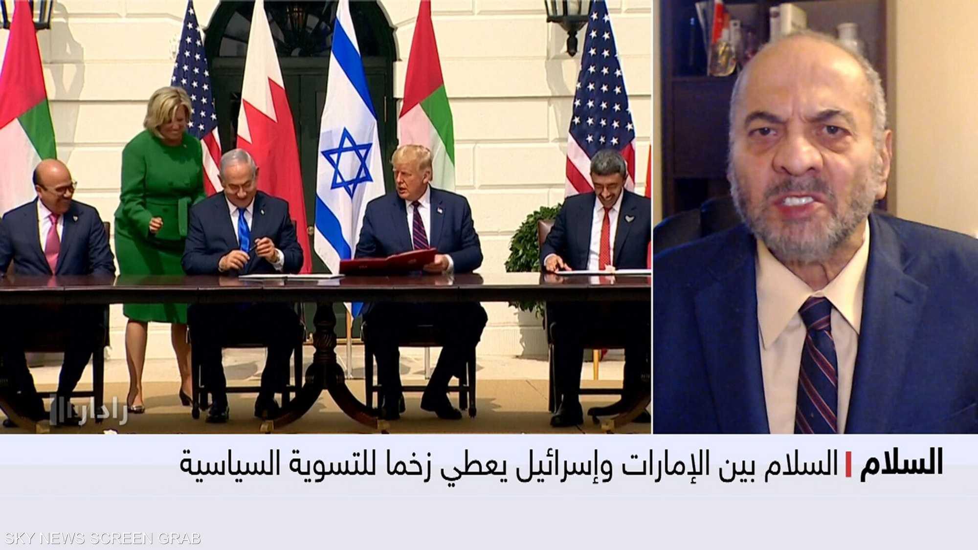 السلام بين الإمارات وإسرائيل يعطي زخما للتسوية السياسية