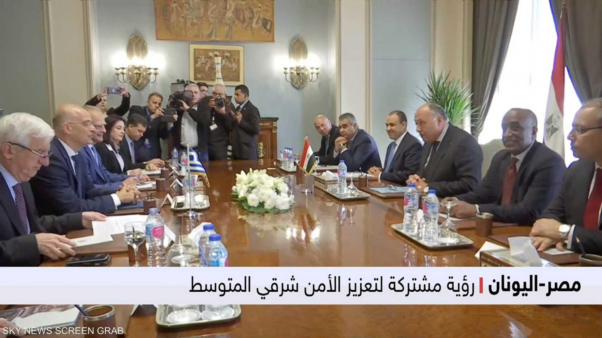 الرؤية المشتركة لأمن المتوسط تُحفز تقارب القاهرة وأثينا