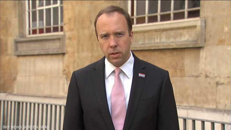 وزير الصحة البريطاني: احتمال لفرض مزيد من القيود